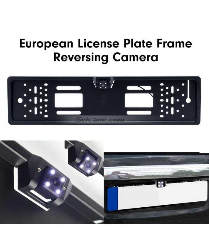 Камера за задно виждане в рамката на номера - 3