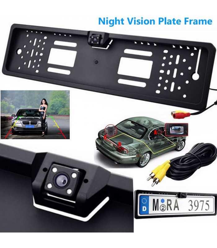 Камера за задно виждане в рамката на номера - 1