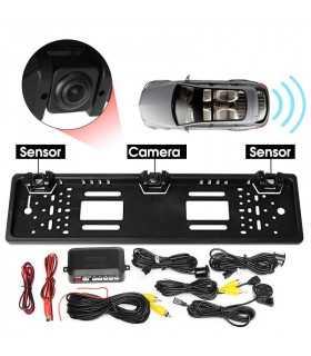 Камера за задно виждане в рамката на номера - 15
