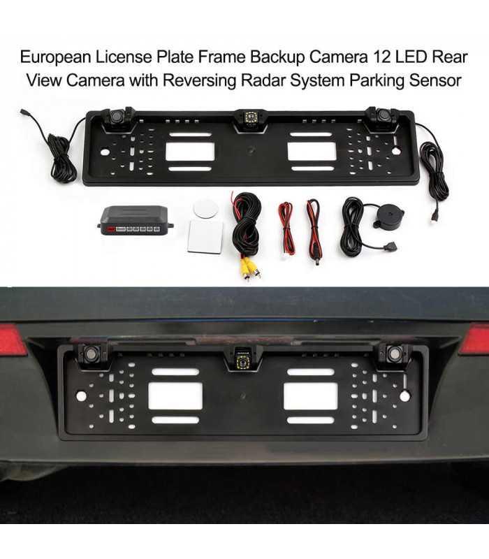 Камера за задно виждане в рамката на номера - 14