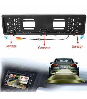 Камера за задно виждане в рамката на номера - 13