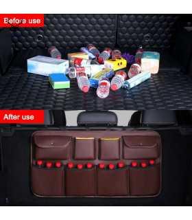 Органайзер за багажник окачващ се на задния ред седалки - 4