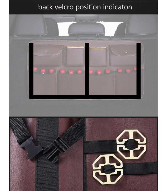 Органайзер за багажник окачващ се на задния ред седалки - 9
