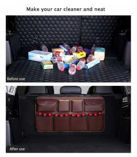 Органайзер за багажник окачващ се на задния ред седалки - 10