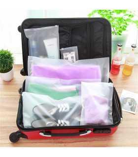 Прозрачни торбички за съхранение на багаж при пътуване - 1