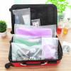 Прозрачни торбички за съхранение на багаж при пътуване