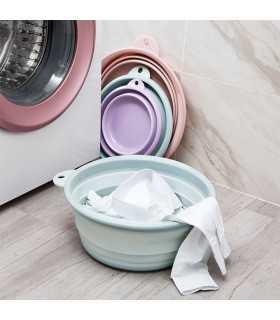 Сгъваем силиконов леген за пране - 1