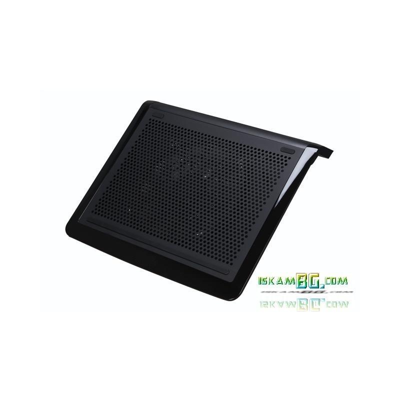 Ултра тънък и безшумен охладител за лаптоп (Повдигнат)
