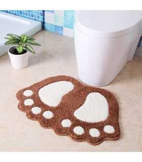 Килимче за баня с форма на големи крака - 1