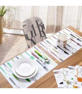 Красиви PVC подложки за хранене - 1