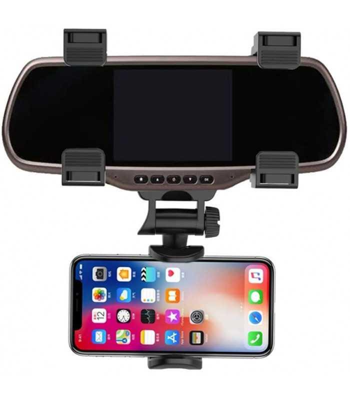 Стойка за телефон за огледало на кола - 10