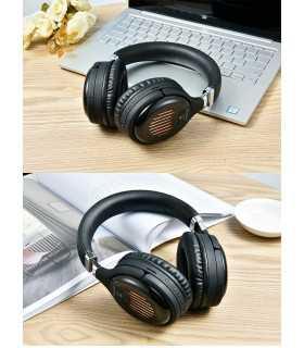 Безжични Bluetooth стерео геймърски слушалки с еквалайзер - 3