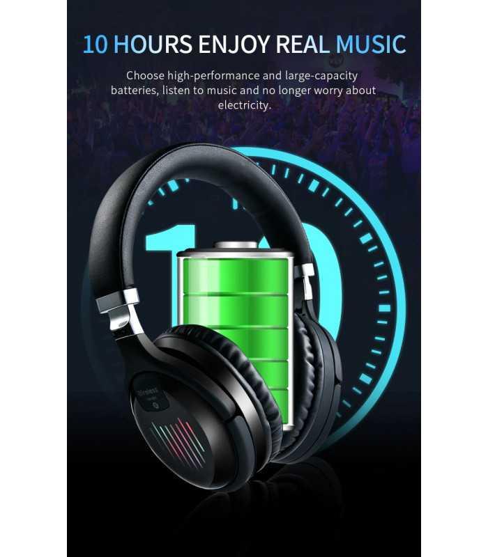 Безжични Bluetooth стерео геймърски слушалки с еквалайзер - 7