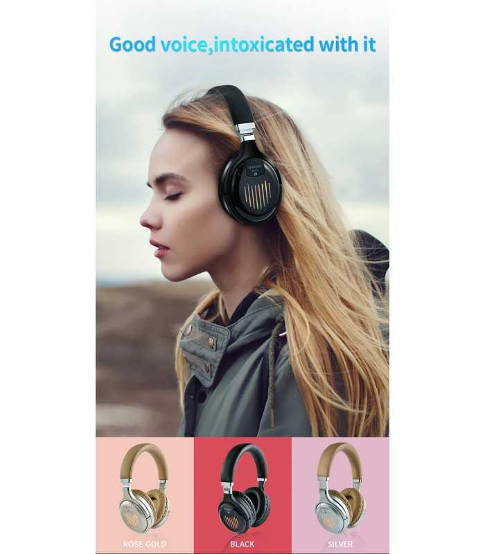 Безжични Bluetooth стерео геймърски слушалки с еквалайзер - 11
