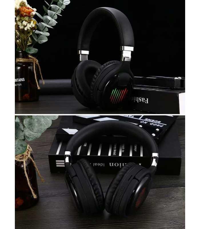 Безжични Bluetooth стерео геймърски слушалки с еквалайзер - 4