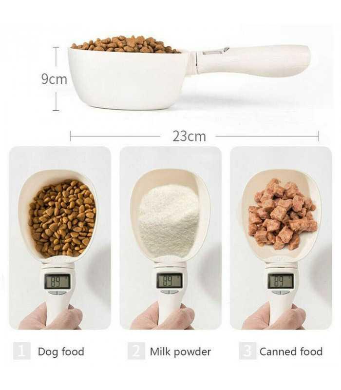 Електронна мерителна лъжица за храна на домашни любимци - 9
