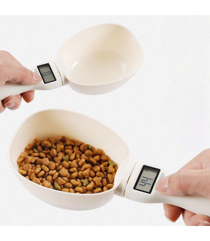 Електронна мерителна лъжица за храна на домашни любимци - 1