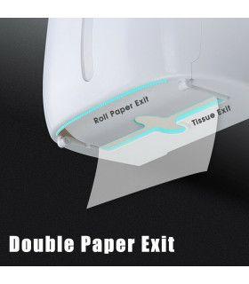 Поставка за тоалетна хартия и телефон - 5