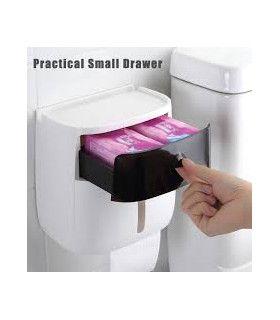 Поставка за тоалетна хартия и телефон - 9
