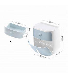 Поставка за тоалетна хартия и телефон - 13
