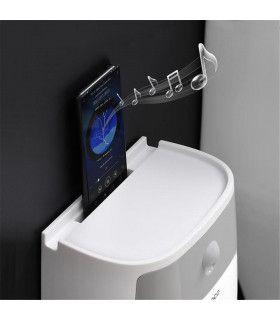 Поставка за тоалетна хартия и телефон - 11