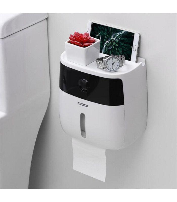 Поставка за тоалетна хартия и телефон - 6