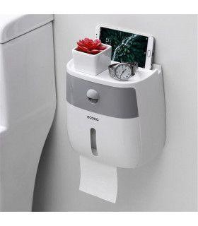 Поставка за тоалетна хартия и телефон - 12