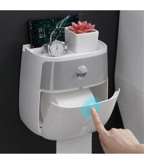 Поставка за тоалетна хартия и телефон - 1