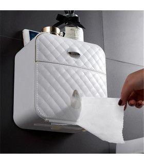 Водоустойчива поставка за тоалетна хартия с рафт и чекмедже - 6