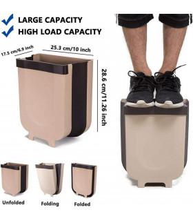 Сгъваемо кошче за боклук за шкаф - 7