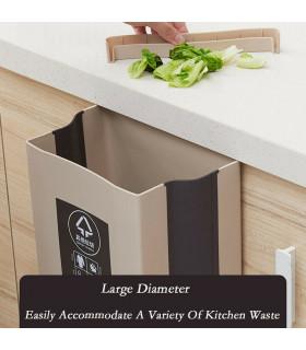 Сгъваемо кошче за боклук за шкаф - 10