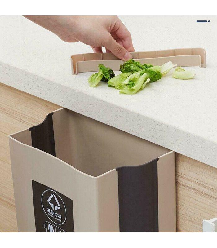 Сгъваемо кошче за боклук за шкаф - 3