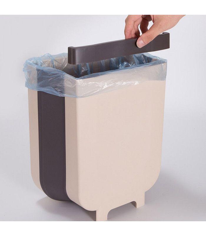 Сгъваемо кошче за боклук за шкаф - 13