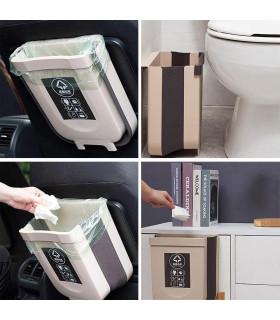 Сгъваемо кошче за боклук за шкаф - 5