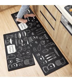 Пътека за кухня от мемори пяна от 2 части - 6