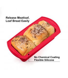 Правоъгълна силиконова форма за печене - 12