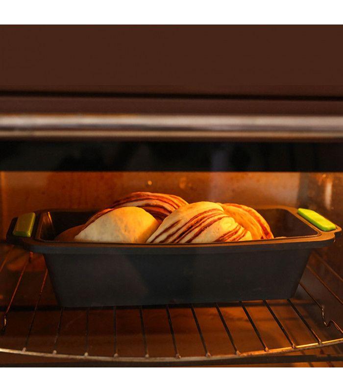 Правоъгълна силиконова форма за печене - 18