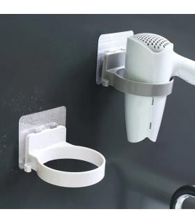 Самозалепваща стойка за сешоар за баня - 1