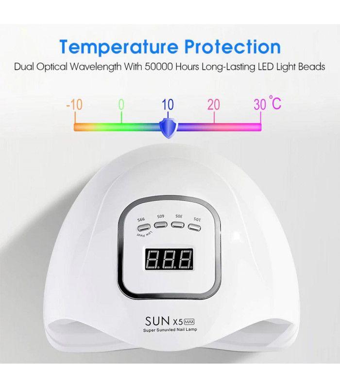 UV лампа за нокти - лампа за маникюр SUN X5 - 14