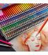 Комплект цветни маслени моливи 72бр 120бр и 160бр - 1