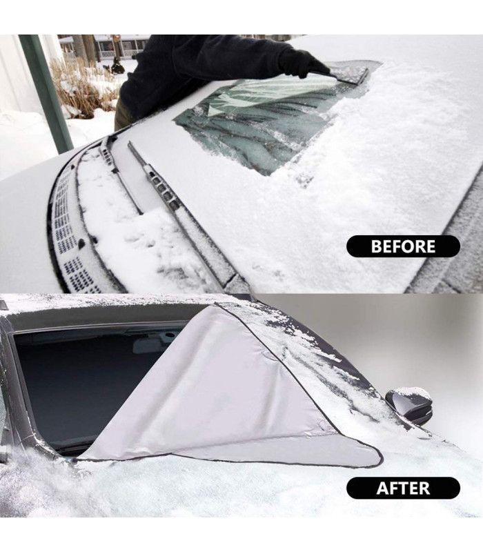 Двулицев протектор за предно стъкло на автомобил - 6
