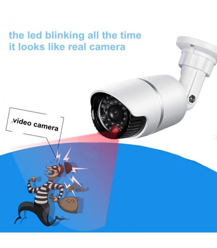 Водоустойчива фалшива камера за външен или вътрешен монтаж - 3