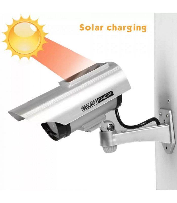 Фалшива камера със соларен панел - 1