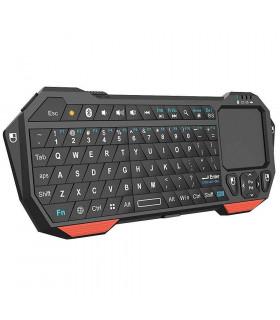 Блутут Wi Fi QWERTY клавиатура с тъчпад за телевизор - 2