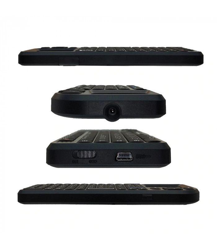 3в1 Wireless клавиатура с лед подсветка + тъчпад + мишка - 4