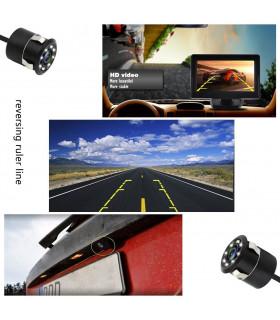 Камера за задно виждане за автомобил с 8 диода - 6
