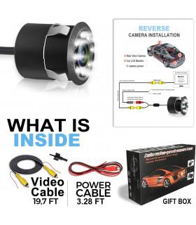 Камера за задно виждане за автомобил с 8 диода - 7