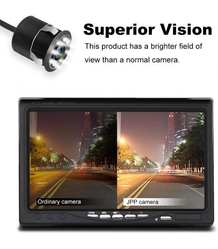 Камера за задно виждане за автомобил с 8 диода - 9