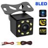 Камера за задно виждане с нощен режим 4 LED