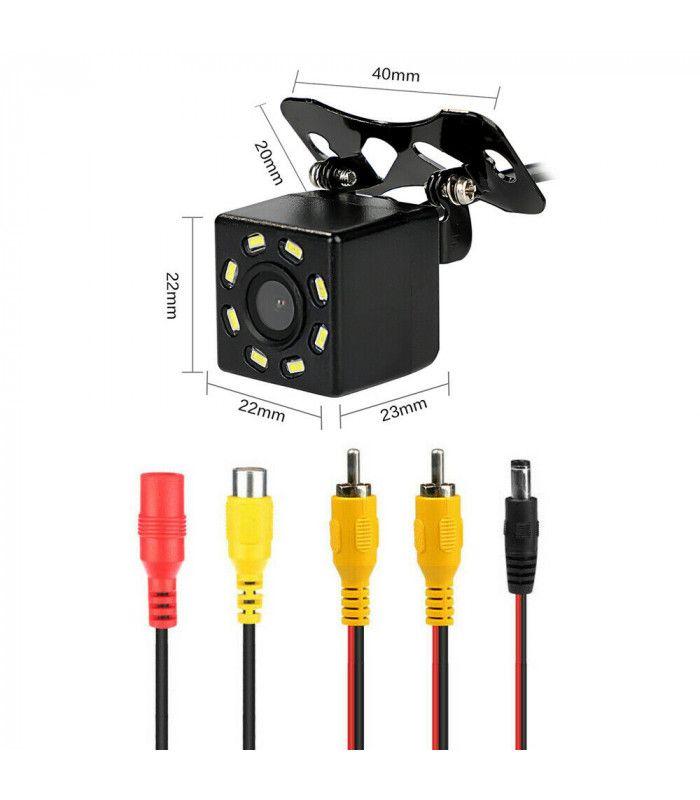 Камера за задно виждане с нощен режим 8 LED - 4